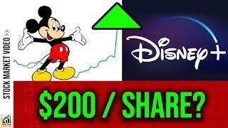 Can Disney+ make Disney Stock $200/share? (DIS Stock Analysis 2019) 📈
