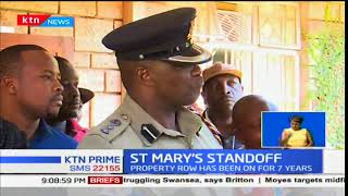 A row engulfs Langata residents as former workers fight with new employees at St Mary's Hospital