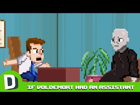 Kdyby měl Voldemort asistenta - Dorkly Bits