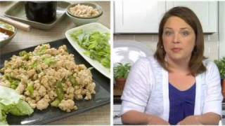 I Heart My Stand Mixer – Ground Chicken Lettuce Wraps