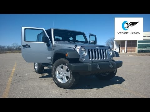 2014 Jeep Wrangler Sport Test Drive and Review