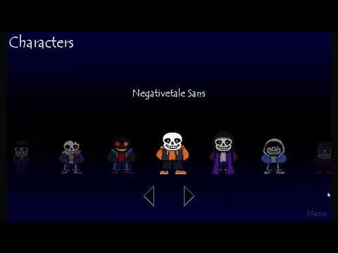 All sans fights horrortale sans-errortale sans-negativetale sans - SSJ  Hasuun