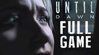 Until Dawn: Walkthrough Gameplay FULL GAME Horror Movie Part 1+ All Cutscenes SPOILERS (PS4 1080p)