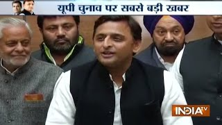 UP Poll 2017 Congress SP Close To Alliance Likely To Talk Over Seat Sharing