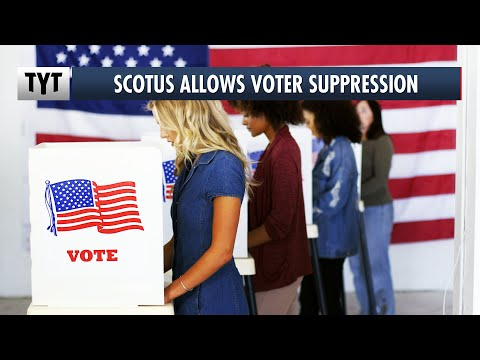 Supreme Court Enables Voter Suppression