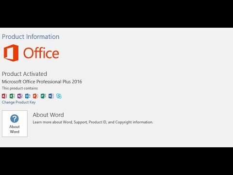 Office 2016 Product Key Easy activation 2018 without any software