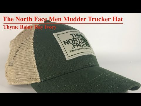 The North Face Men Mudder Trucker Hat | Product Overview