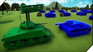 StuG III АТАКУЕТ. Американская компания # 2 - Игра Total Tank Simulator Demo 4 прохождение