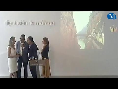 Elías Bendodo y los vicepresidentes de la Diputación informan sobre asuntos de actualidad