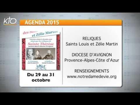 Agenda du 12 octobre 2015
