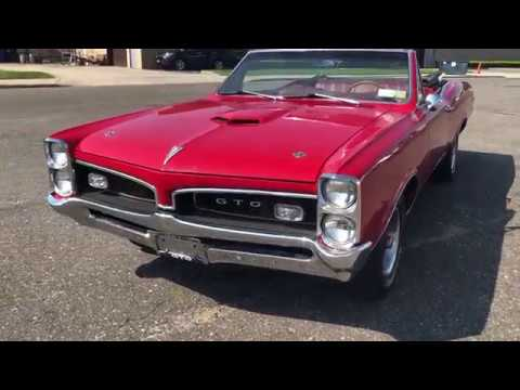 Video of Classic '67 Pontiac GTO - Q4SB