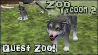 Quest Zoo! Welcoming the Timber Wolves! - Episode #11