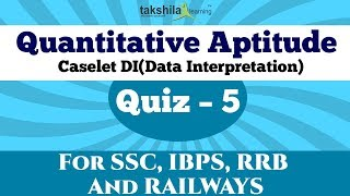 Data Interpretation (Caselet ) Quantitative Aptitude Quiz for Competitive Exam Preparation (Part -5)