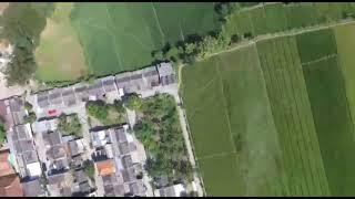 TES DRONE DJI PHANTOM 3 STANDARD TERBANG
