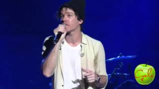 JUST GIVE ME A REASON - Nate Ruess Live In Manila 2016 [HD]