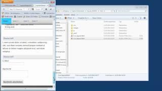 TYPO3-Tutorial 2012-14 - HTML-Vorlage in TYPO3 integrieren - Teil 1