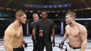 Khabib vs. Jake Matthews (EA Sports UFC 2) - Champion Fight