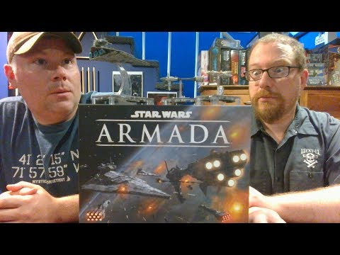 The Board Game Kaptain's review for Star Wars: Armada