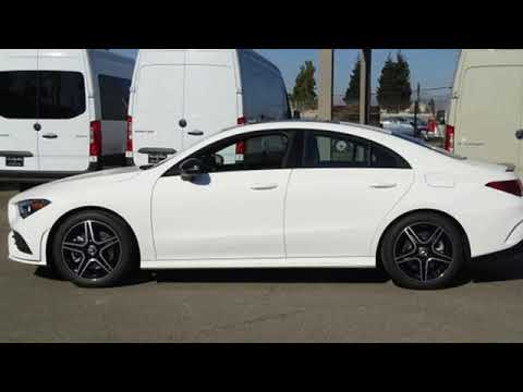 New 2020 Mercedes-Benz CLA San Francisco San Jose, CA #20-0677