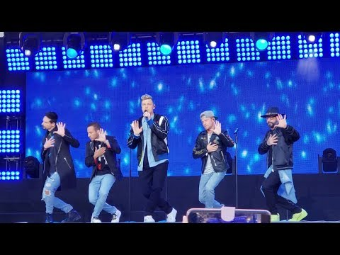 """Don't Go Breaking My Heart"" - Backstreet Boys NEW SONG on Jimmy Kimmel LIVE!"