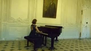 Frédéric CHOPIN Etude Opus 25 No. 2 in f minor (Emmanuelle Stéphan)