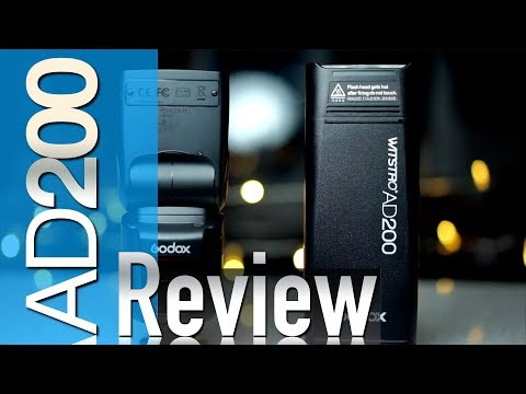 Godox AD200 Review, HSS Test & vs V860ii