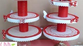Tutorial: Porta Cupcakes! - DIY Cupcakes Stand!
