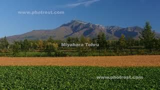 紅葉の斜里岳