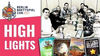 Neuheiten & Was war cool? Berlin Brettspiel Con 2021