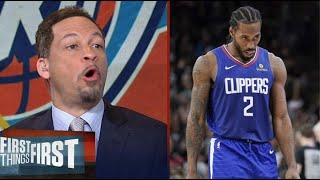 Chris Broussard reacts Clippers clinching the 2 seed last night with their win over Nuggets 124-111