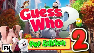 Guess Who? Kids Fitness Pets Edition Pt. 2    What Is This? Kids & Family Fitness