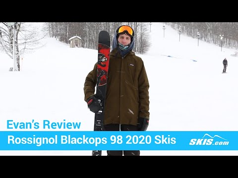 Video: Rossignol Blackops 98 Skis 2020 6 40