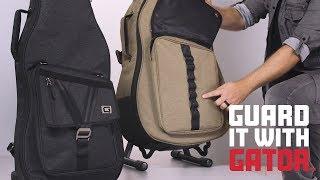 Gator Transit Electric Guitar Gig Bag - BLK Video