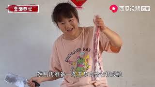 我是小熙:农村土豆成熟啦,妈妈拔2岁闺女捡,夸赞自己太棒了,真逗超清版