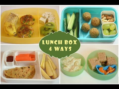 Video Indian Lunch Box Ideas | Kids Lunch Box Recipes| Quick Lunch Box