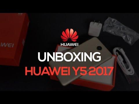 Unboxing - Huawei Y5 2017 en español