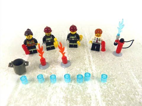 Vidéo LEGO City 850618 : Ensemble d'accessoires Pompiers