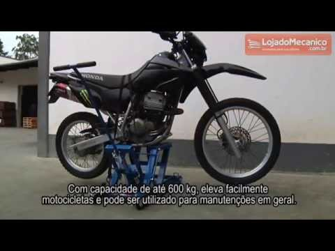 Mini Elevador Hidráulico para Moto 600 Kg - Video