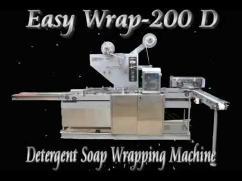 Detergent Soap 'Envelop Type' Packaging Machine