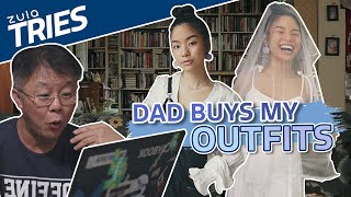 Letting My Dad Buy My Outfits | ZULA Tries | EP 36