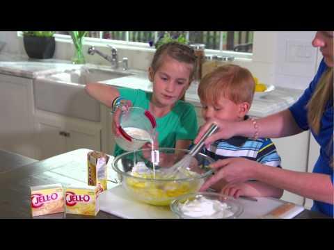 Video Cutie Ice Cream Pudding Cones| JELL-O