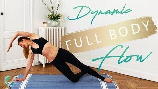 Energizing PILATES full body flow, best end of the day, at home, no equipment