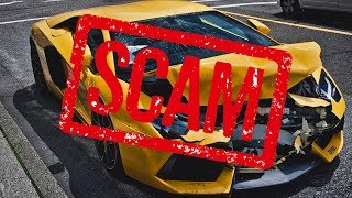 5 Scams Most People Fall For When Buying Their First Exotic