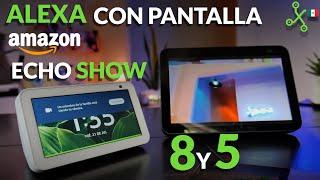 Echo Show 8 y 5 2021: pantallas inteligentes con AMAZON ALEXA ¿valen la pena?
