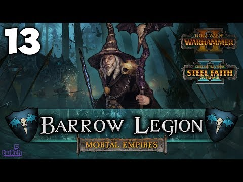 THE GRIM WARRIOR! Total War: Warhammer 2 - Mortal Empires Campaign [SFO] - Barrow Legion #13