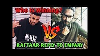 Raftaar Reply To Emiway Bantai | Emiway Vs Raftaar, Divine & Mc Stan - Diss | T-Series Vs PewDiePie|
