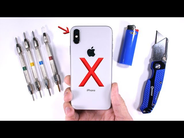 iPhone X Passes Bend, Burn, Drop, and Scratch Tests With