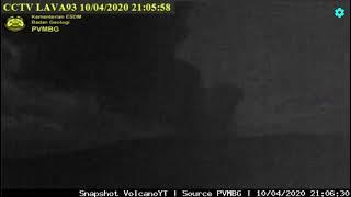 Anak Gunung Krakatau Erupsi, Ketinggian Abu Vulkanik Capai 300 Meter