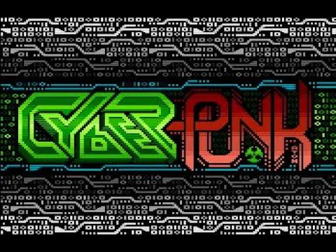 Cyberpunk by LAMERS (Atari 8 bit)  1080@50 fps