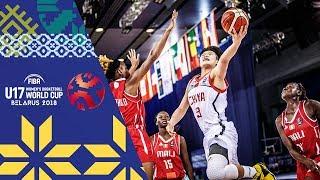 China v Mali - Full Game - FIBA U17 Women's Basketball World Cup 2018 | Kholo.pk